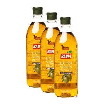 Badia Olive Oil Extra Virgin 1Liter Pack of 3