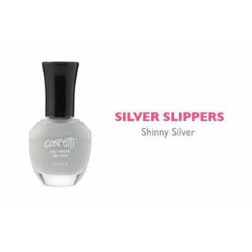 Confetti Nail Polish Silver Slippers by Confetti