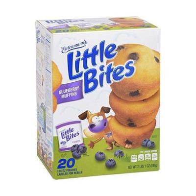 Entenmann's Little Bites Blueberry (20 ct., 33 oz.) (pack of 6)