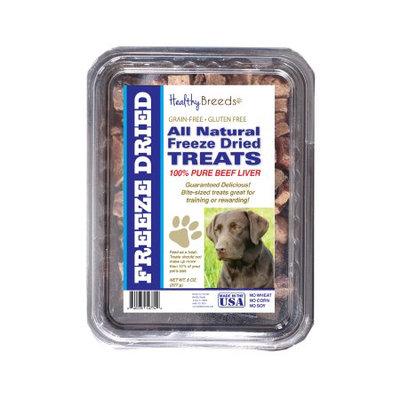 Healthy Breeds 840235147527 10 oz Labrador Retriever All Natural Freeze Dried Treats Beef Liver