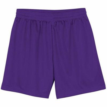 A4 Apparel NB5184 Youth Lined Micromesh Short - Purple - Small