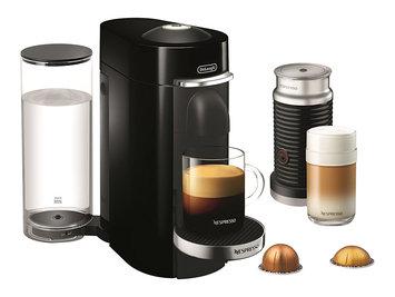 Nestle DELENV155BAE Nespresso VertuoPlus Deluxe Coffee and Espresso Maker by De'Longhi with Aeroccino, Black