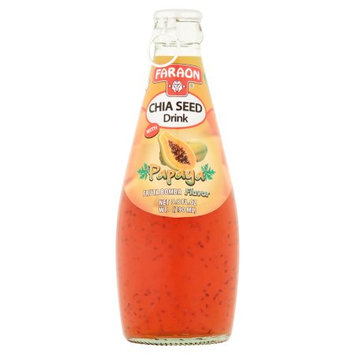 Faraon Foods Faraon Chia Seed Drink with Papaya, 9.8 fl oz