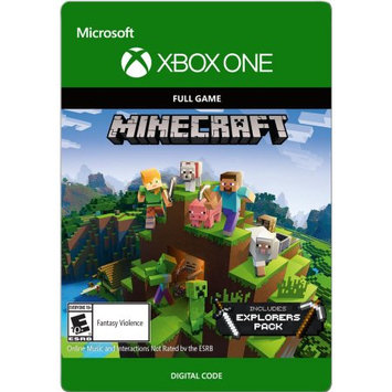 Interactive Communications Minecraft: Explorer's Pack Xbox One (Email Delivery)
