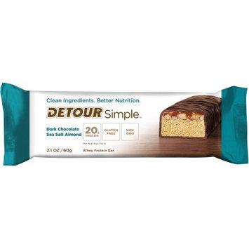 Detour SIMPLE Dark Chocolate Sea Salt Almond Protein Bar, 2.1 oz