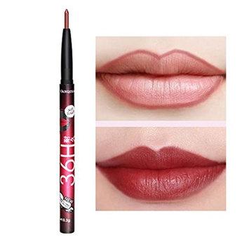 Women Long-lasting Auto Rotation Lipliner Lip Liner Pencil Makeup Cosmetic Tool
