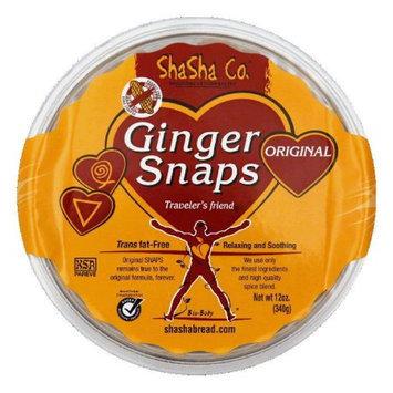 Shasha Cookie Ginger Snap Original 12 Oz Case Of 16