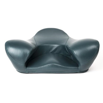 Alexia Meditation Seat D371-O7717 Meditation Leather Seat Green - Very Large