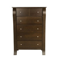 Kidz Decoeur Augusta 5 Drawer Chest, Espresso