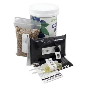 Growscripts 6PC Blueberry Bush Care Kit with Everything needed for In-Ground Bushes