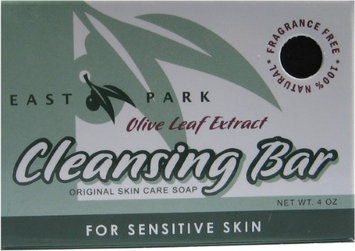 East Park Research 382049 4 oz Green Cleansing Soap Bar for Sensitive Skin