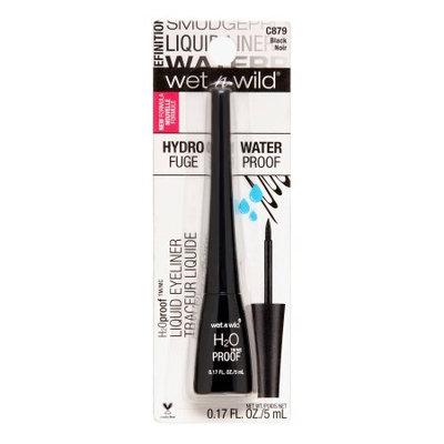 Markwins Wet N Wild H2O Felt Tip Liquid Liner, Black
