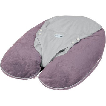 Candide Baby Group CANDIDE Multirelax+ 3-in-1 Pillow, Boa, Plum/Grey