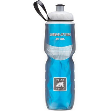 Polar Insulated Water Bottle: 24oz, Red