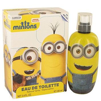 Minions Yellow by Minions Eau De Toilette Spray 3.3 oz
