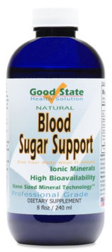 Good State Liquid Ionic Minerals Blood Sugar Support (96 Day Supply)