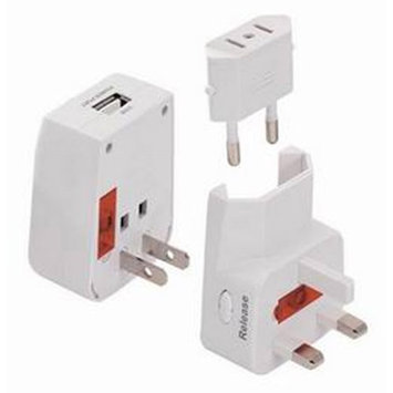 Seven Star Universal Travel Adapter with USB Charge