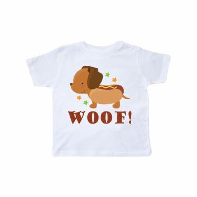 Dachshund Hot Dog Funny Toddler T-Shirt