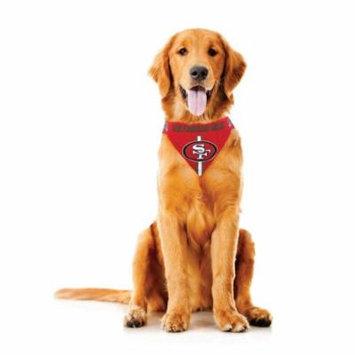 San Francisco 49ers Dog Bandanna Size S
