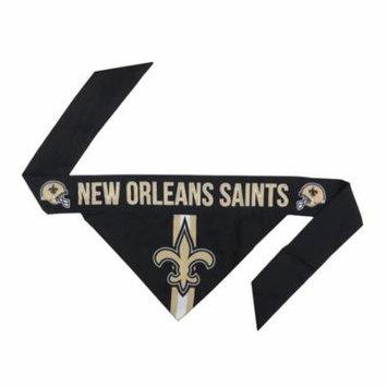 New Orleans Saints Dog Bandanna Size XL