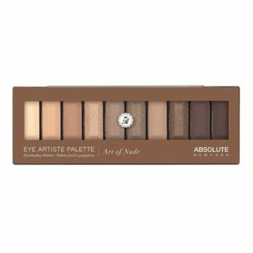 (6 Pack) ABSOLUTE Eye Artiste Palette - Art Of Nude