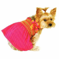 Tropical Flowers Pet Dress (Extra Small)