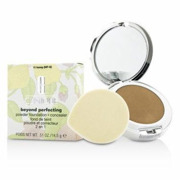 Clinique - Beyond Perfecting Powder Foundation + Corrector - # 11 Honey (MF-G) -14.5g/0.51oz