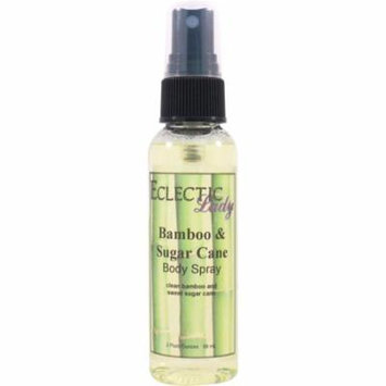 Bamboo And Sugar Cane Body Spray (Double Strength), 4 ounces
