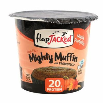 FlapJacked Mighty Muffin with Probiotics Maple Pumpkin -- 1.94 oz pack of 12