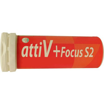 attiV Focus S2 Energy Vitamin Seltzer 5 Tablets Lemon Flavor