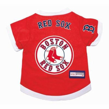 Boston Red Sox Dog Pet Premium Alternate Jersey XS