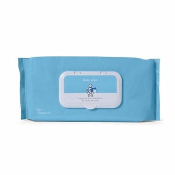 Cardinal Health Baby Wipes Sensitive, Fragrance Free Pack of 42