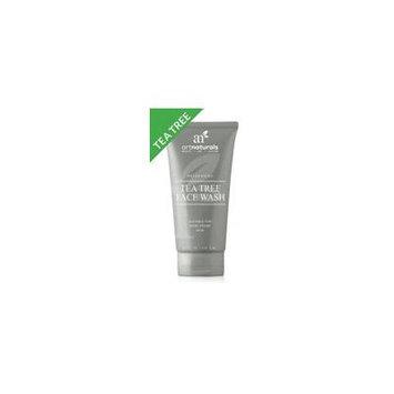 artnaturals Tea Tree Face Wash - 236ml - Helps Heal and Prevent Breakouts, Acne and Skin Irritation - Green Tea, Tea Tree Essential Oil, and Aloe Vera