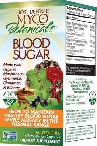 Fungi Perfecti / Host Defense MycoBotanicals Blood Sugar Fungi Perfecti/Host Defense 60 Caps