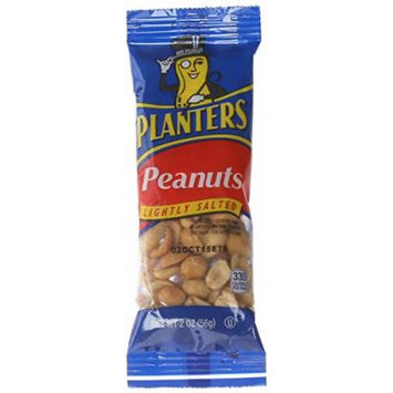 Planters Cocktail Peanuts, Lightly Salted, 2 Ounce, 36 Count
