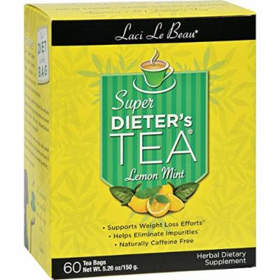 Laci Le Beau Super Dieter s Tea Lemon Mint - 60 Tea Bags
