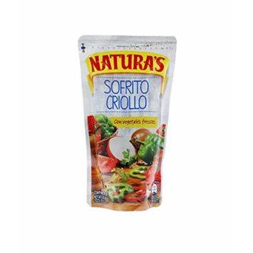Naturas Salsa de Tomate Sofrito Criollo / Tomato Sauce Sofrito Criollo 227g - 12 Pack