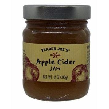 Trader Joe's - Apple Cider Jam - 12 oz Jar - Pack of 2