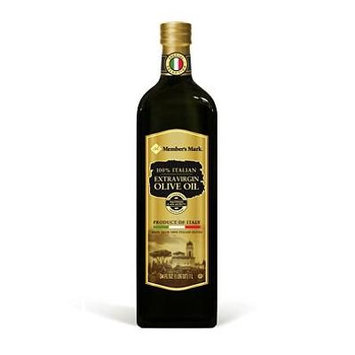 Member's Mark 100% Italian Extra Virgin Olive Oil (1L bottle) (packof 6)