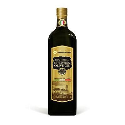 Member's Mark 100% Italian Extra Virgin Olive Oil (1L bottle) (packof 6)