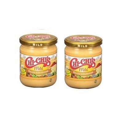 Chi-Chi's Fiesta Mild Salsa Con Queso, 15.5 oz (Pack of 2)
