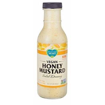 Follow Your Heart Vegan Honey Mustard Salad Dressing 335ml (Pack of 2)
