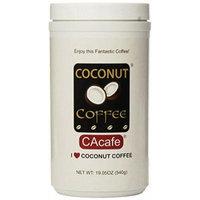 Cacafes Coconut Coffee in Jar #28528 (Cane Sugar Added) -3 Pack ( 19.05 Oz Each )