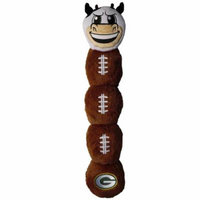 Pets First GBP-3226 NFL Green Bay Packers Cow Mascot Toy