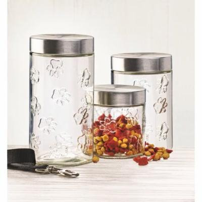Charlton Home 1.31 qt. Pet Treat Jar