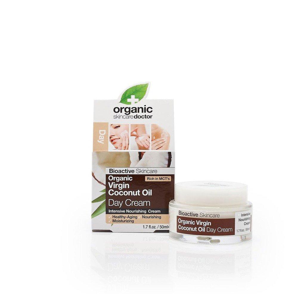 Virgin Coconut Oil Day Cream Organic Doctor 1.7 oz (50 ml) Cream