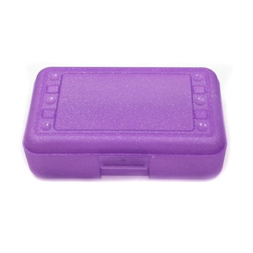 Romanoff Products ROM60250 Pencil Box Purple Sparkle