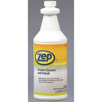 Zep Professional R00201 Cream Cleaner and Polish, Pine Fragrance, Light green (Case of 12 Quarts)