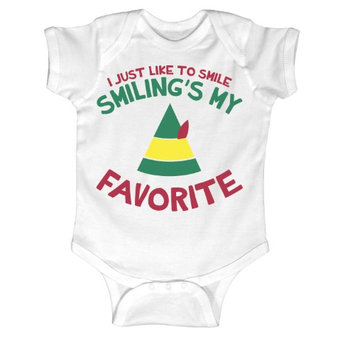Airwaves I Just Like To Smile, Smiling's My Favorite - INFANT One Piece