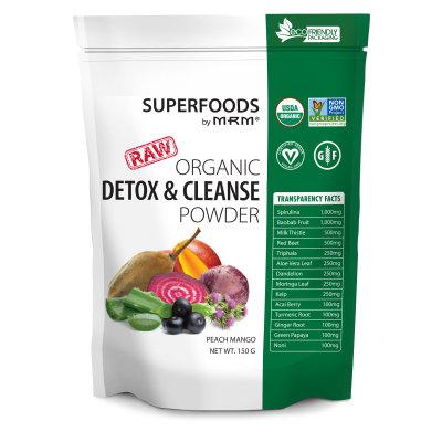Mrm Metabolic Response Modifiers Super Foods - Detox & Cleanse MRM (Metabolic Response Modifiers) 150 g Powder